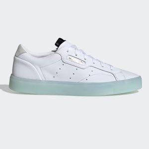 Adidas Sleek Cloud White/Ice Mint